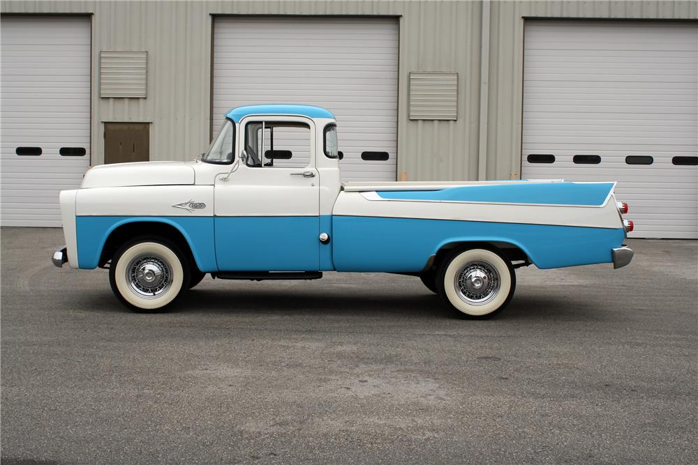 1957 DODGE D-100 SWEPTSIDE PICKUP - Side Profile - 151375