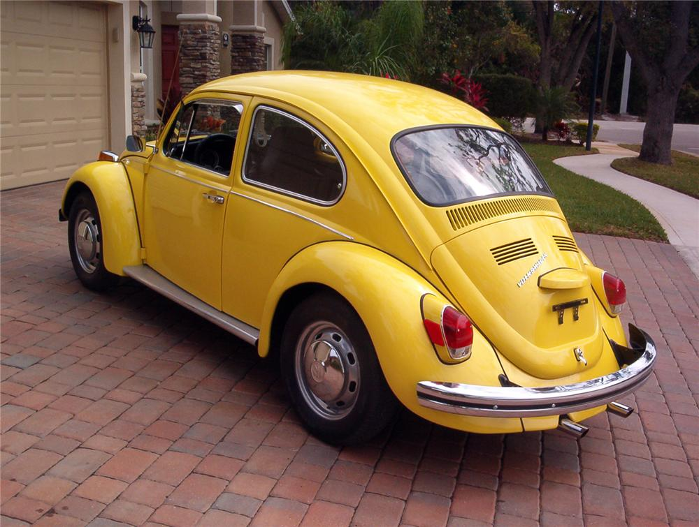 1970 VOLKSWAGEN BEETLE 2 DOOR SEDAN - 151387