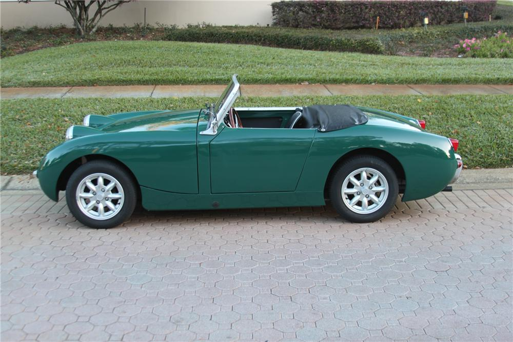 1960 AUSTIN-HEALEY SPRITE CONVERTIBLE - Side Profile - 151391