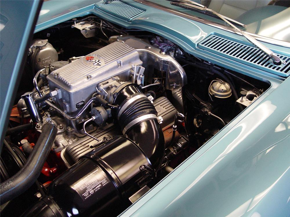 1965 CHEVROLET CORVETTE CONVERTIBLE - Engine - 151393