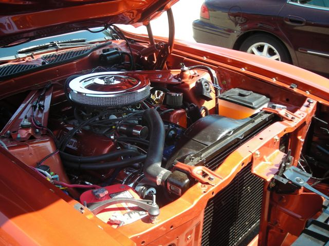 1973 FORD MUSTANG CONVERTIBLE - Engine - 151394