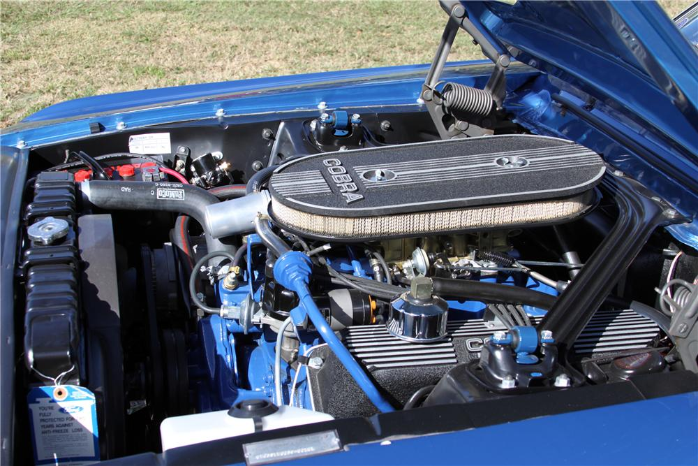 1968 SHELBY GT500 CONVERTIBLE - Engine - 151399