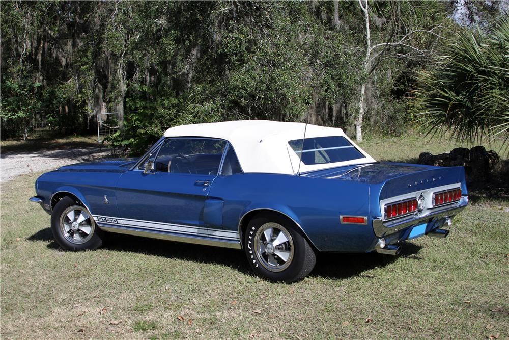 1968 Shelby Gt500 Convertible 151399