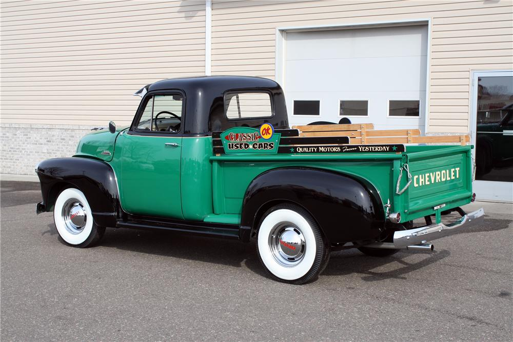 1954 CHEVROLET 3100 PICKUP - Rear 3/4 - 151423