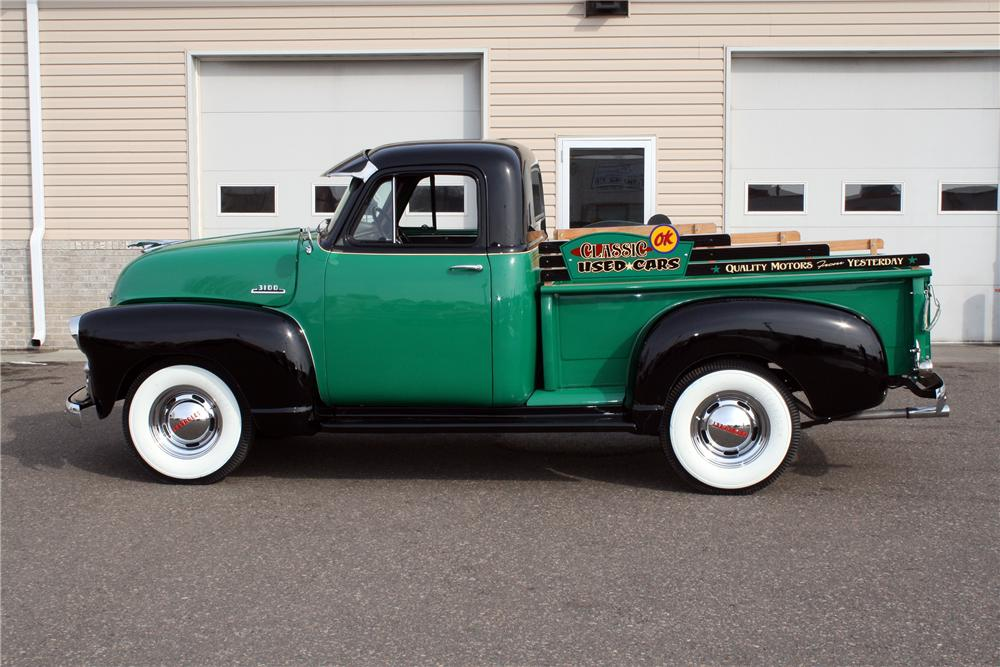 1954 CHEVROLET 3100 PICKUP - Side Profile - 151423