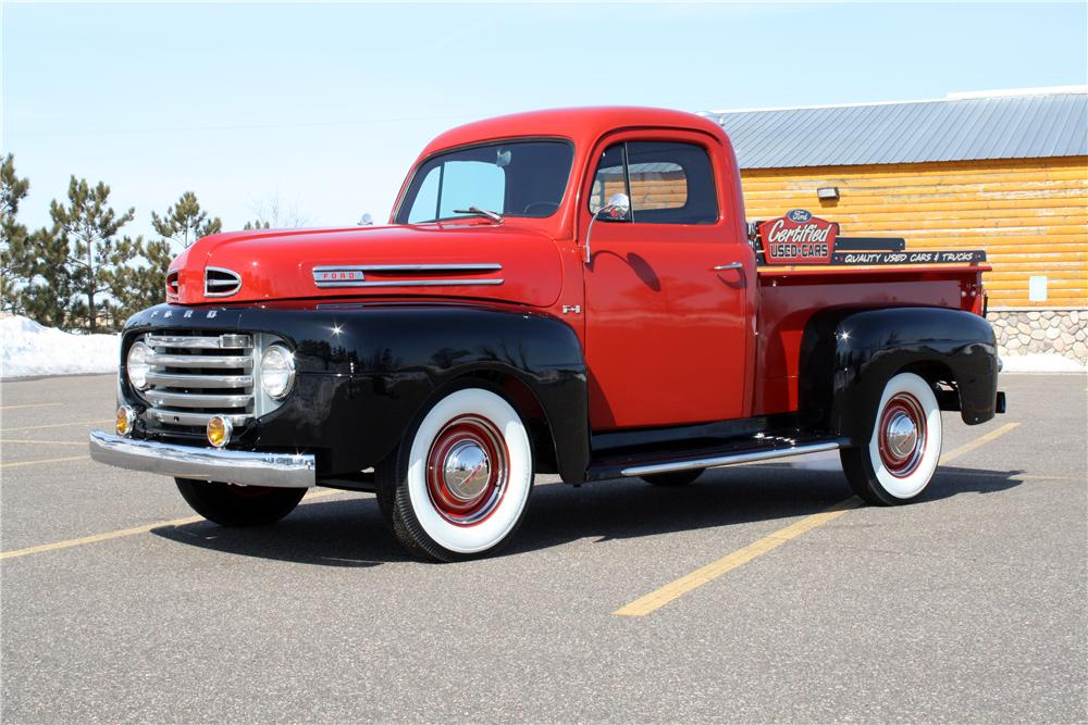 1950 FORD F-1 PICKUP - Front 3/4 - 151424