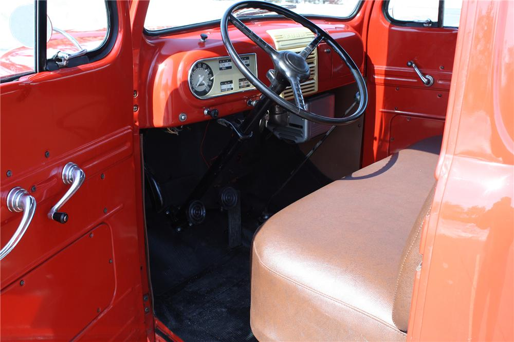 1950 FORD F-1 PICKUP - Interior - 151424