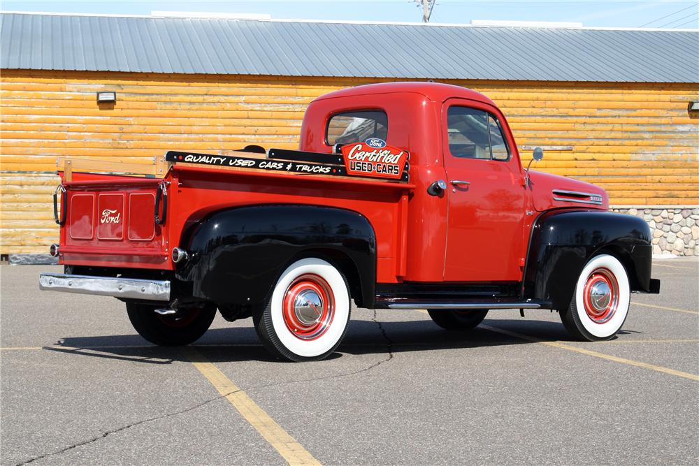 1950 FORD F-1 PICKUP - Rear 3/4 - 151424