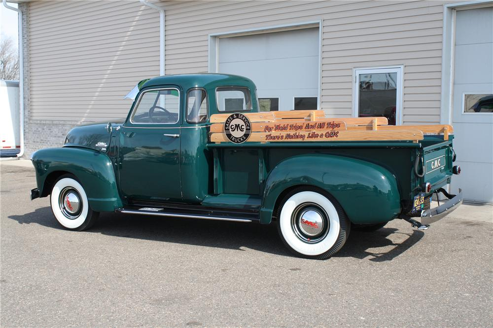 1950 GMC 100 PICKUP - Rear 3/4 - 151425