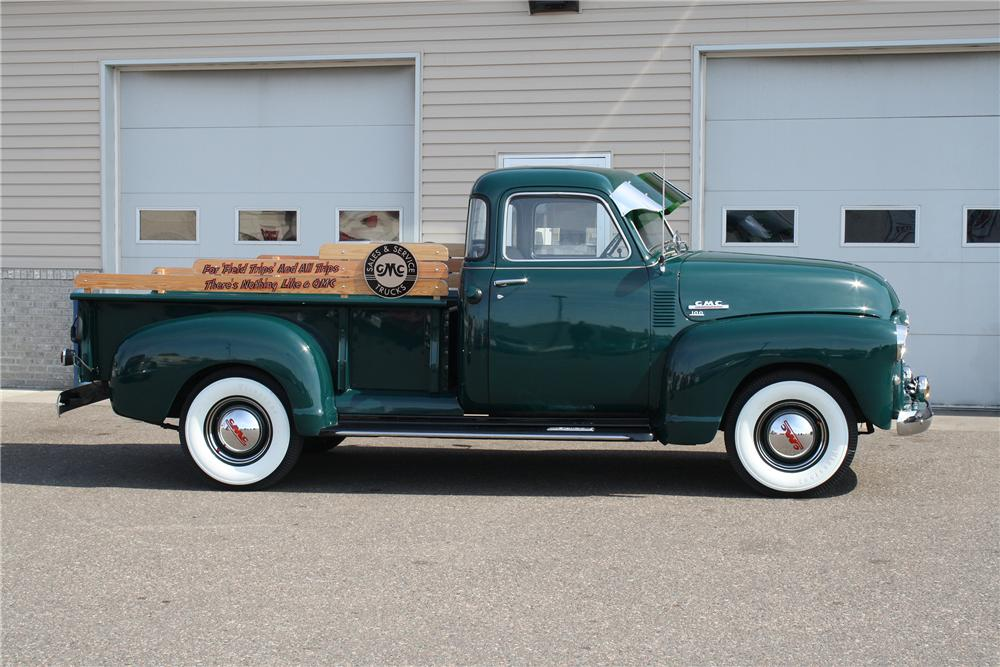 1950 GMC 100 PICKUP - Side Profile - 151425