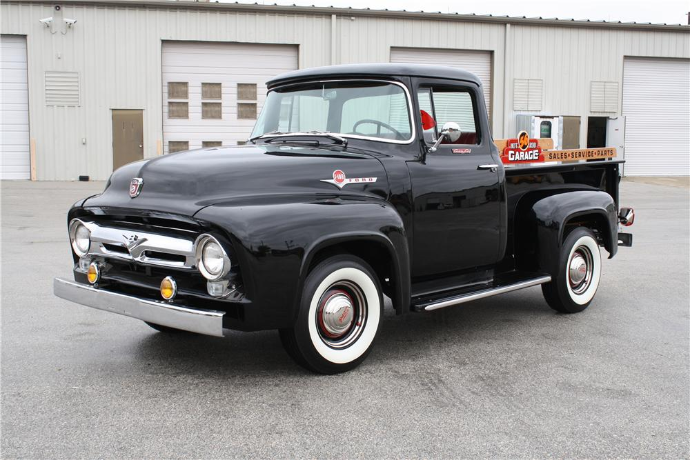 1956 FORD F-1 CUSTOM PICKUP - Front 3/4 - 151426