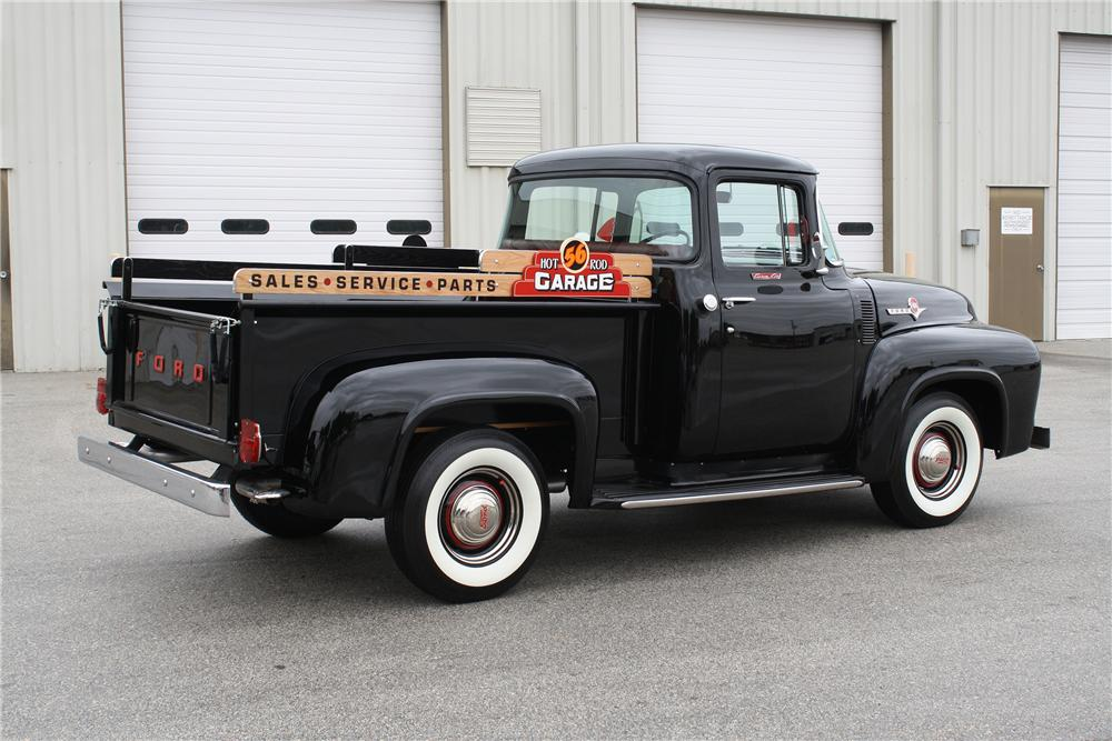1956 FORD F-1 CUSTOM PICKUP - Rear 3/4 - 151426