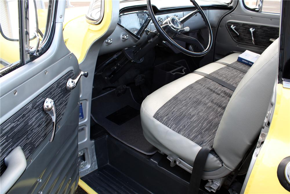 1958 CHEVROLET CAMEO PICKUP - Interior - 151427