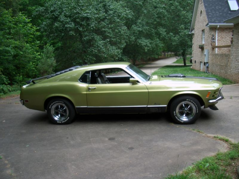 1970 FORD MUSTANG MACH 1 428 CJR FASTBACK - Front 3/4 - 151435