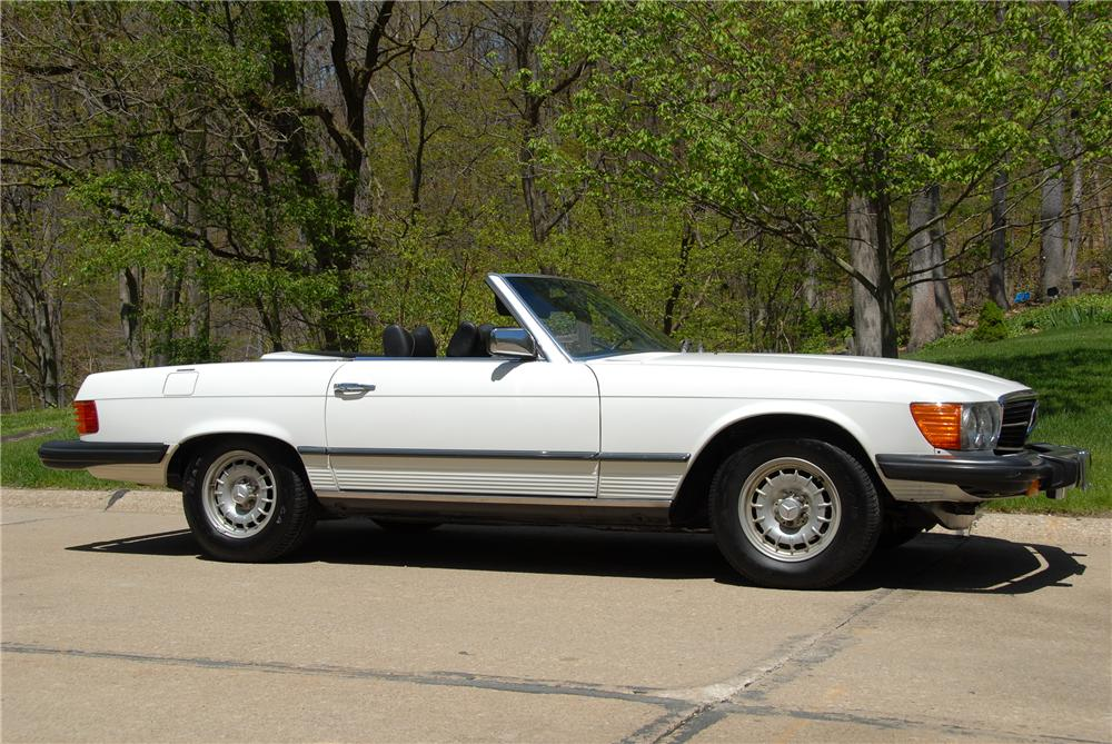 1978 mercedes benz 450sl convertible 151442