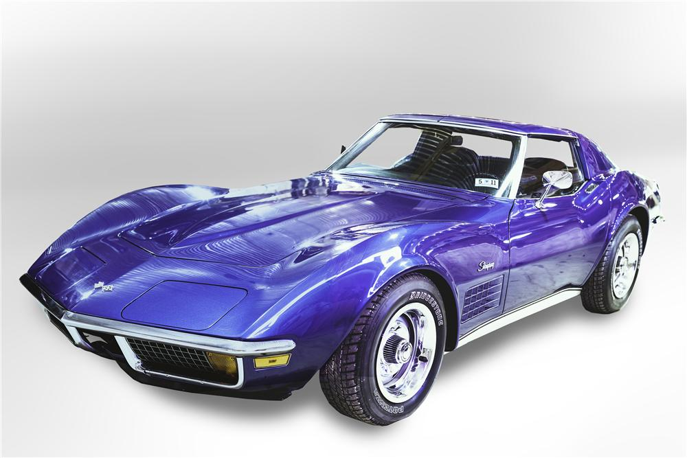 1972 CHEVROLET CORVETTE 2 DOOR COUPE - Front 3/4 - 151459