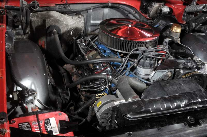 1965 FORD GALAXIE 500 CONVERTIBLE - Engine - 151461