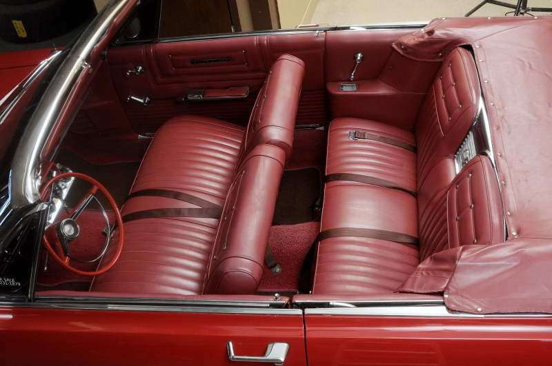 1965 FORD GALAXIE 500 CONVERTIBLE - Interior - 151461