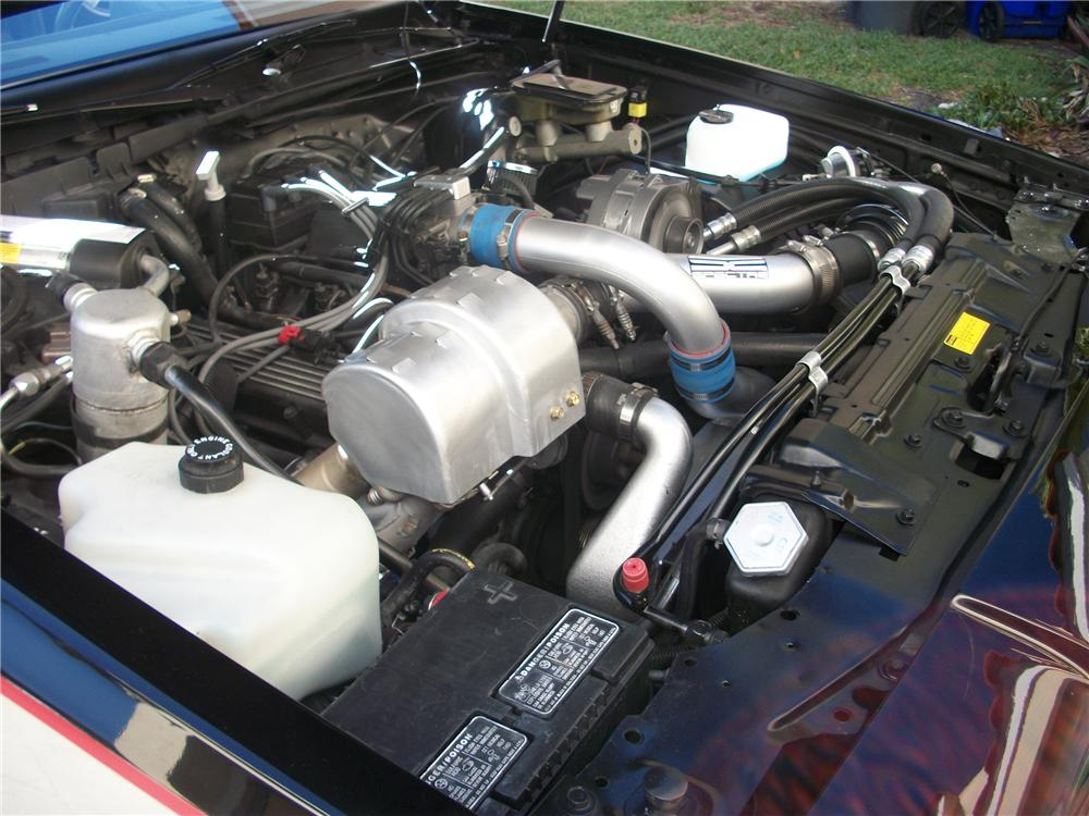 1985 BUICK GRAND NATIONAL 2 DOOR COUPE - Engine - 151466