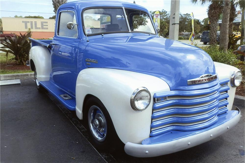 1950 CHEVROLET 3100 CUSTOM PICKUP - Front 3/4 - 151467