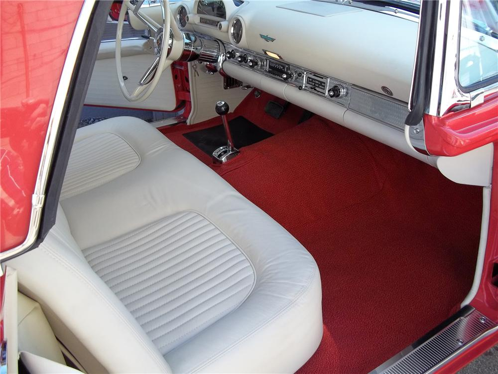1956 FORD THUNDERBIRD CONVERTIBLE - Interior - 151471