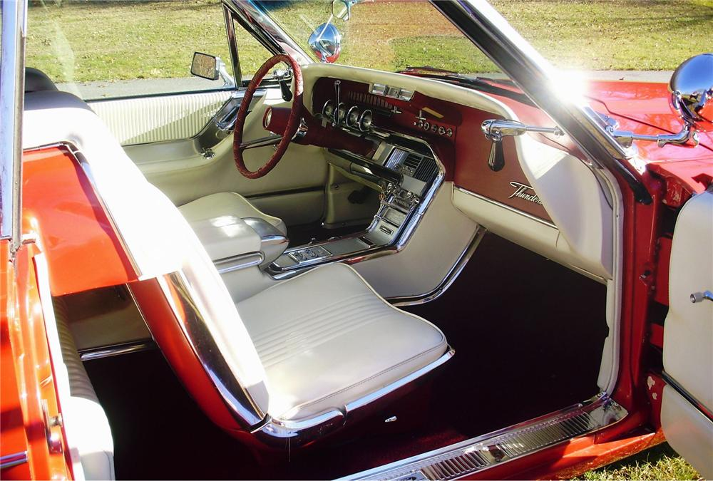 1964 FORD THUNDERBIRD CONVERTIBLE - Interior - 151472