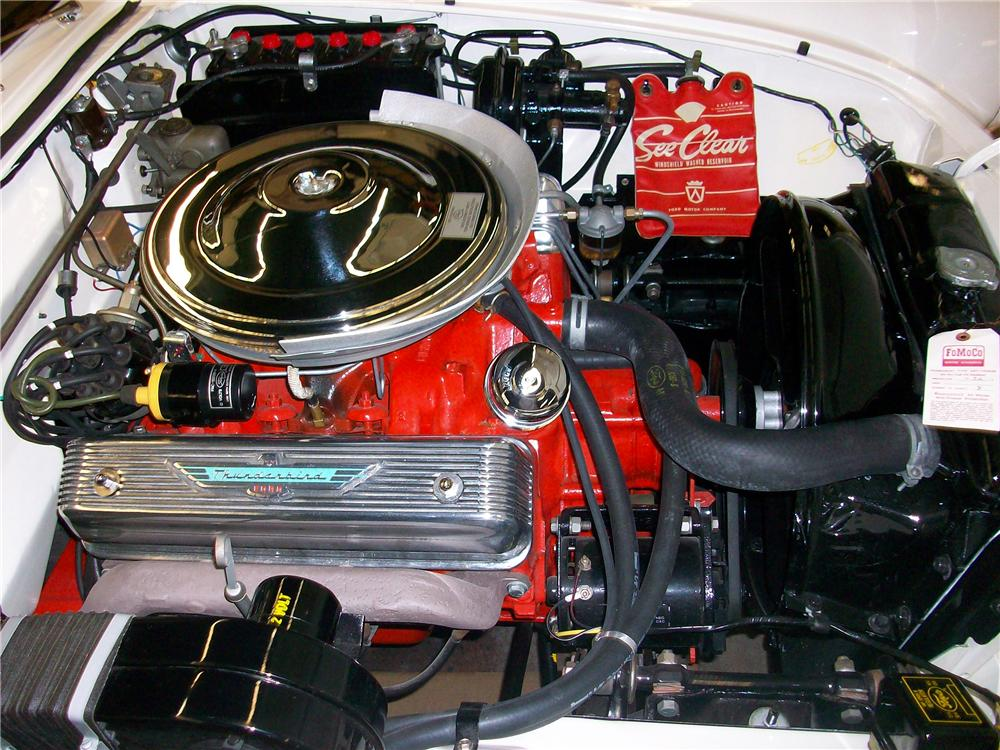 1957 FORD THUNDERBIRD CONVERTIBLE - Engine - 151473