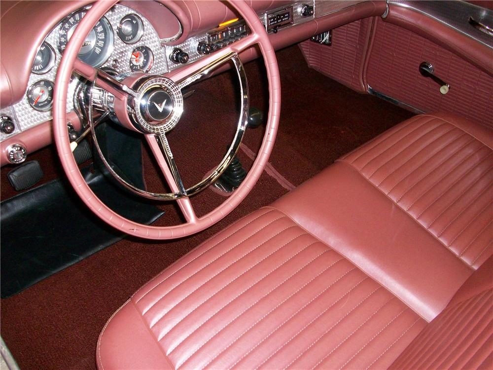 1957 FORD THUNDERBIRD CONVERTIBLE - Interior - 151473