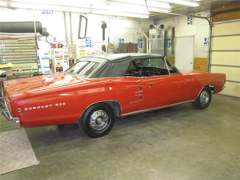 1968 DODGE CORONET 500 CONVERTIBLE - Front 3/4 - 151475