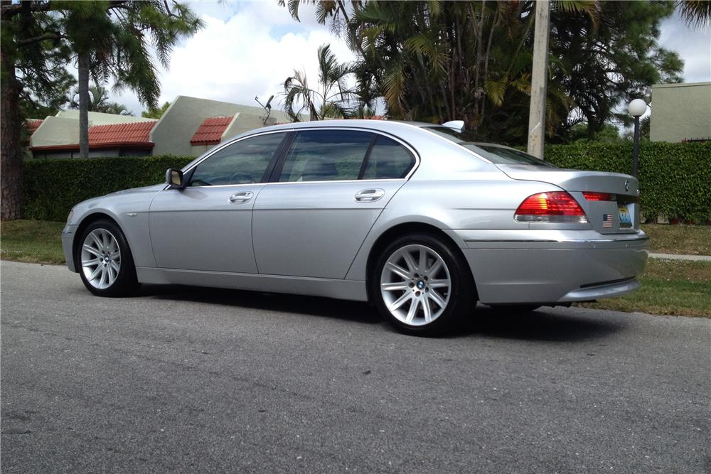 2005 BMW 745I 2 DOOR SEDAN - Rear 3/4 - 151480