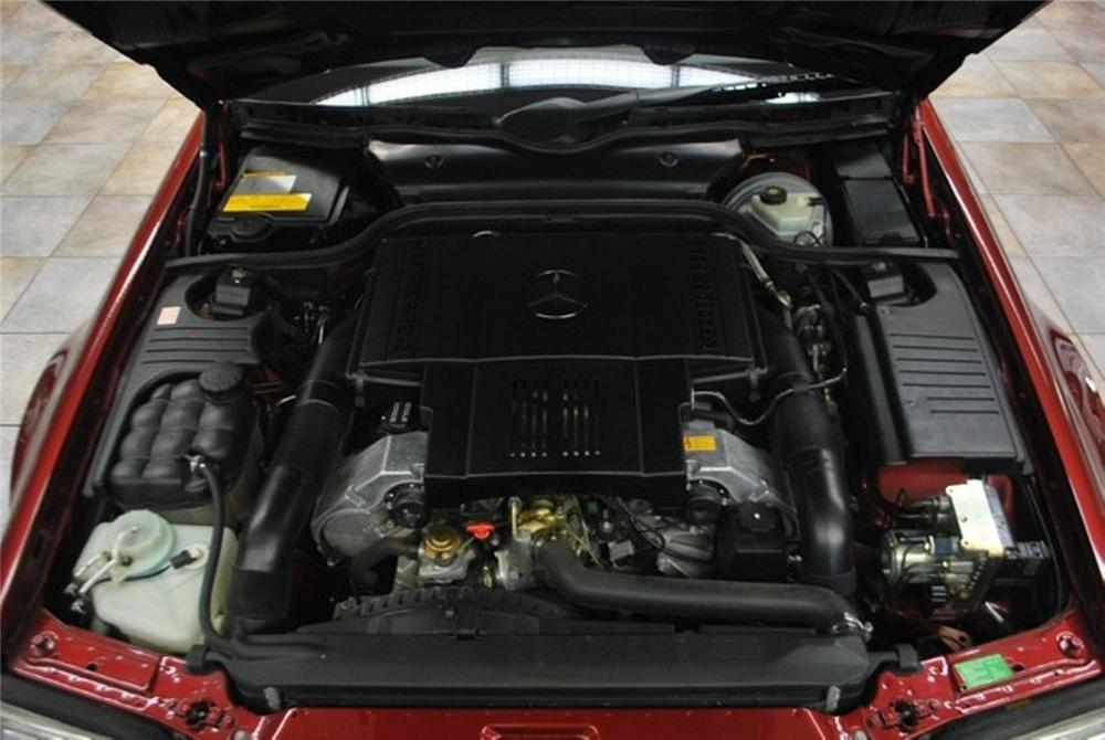 1997 MERCEDES-BENZ SL500 CONVERTIBLE - Engine - 151582
