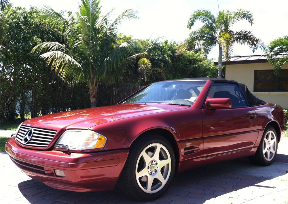 1997 MERCEDES-BENZ SL500 CONVERTIBLE - Front 3/4 - 151582