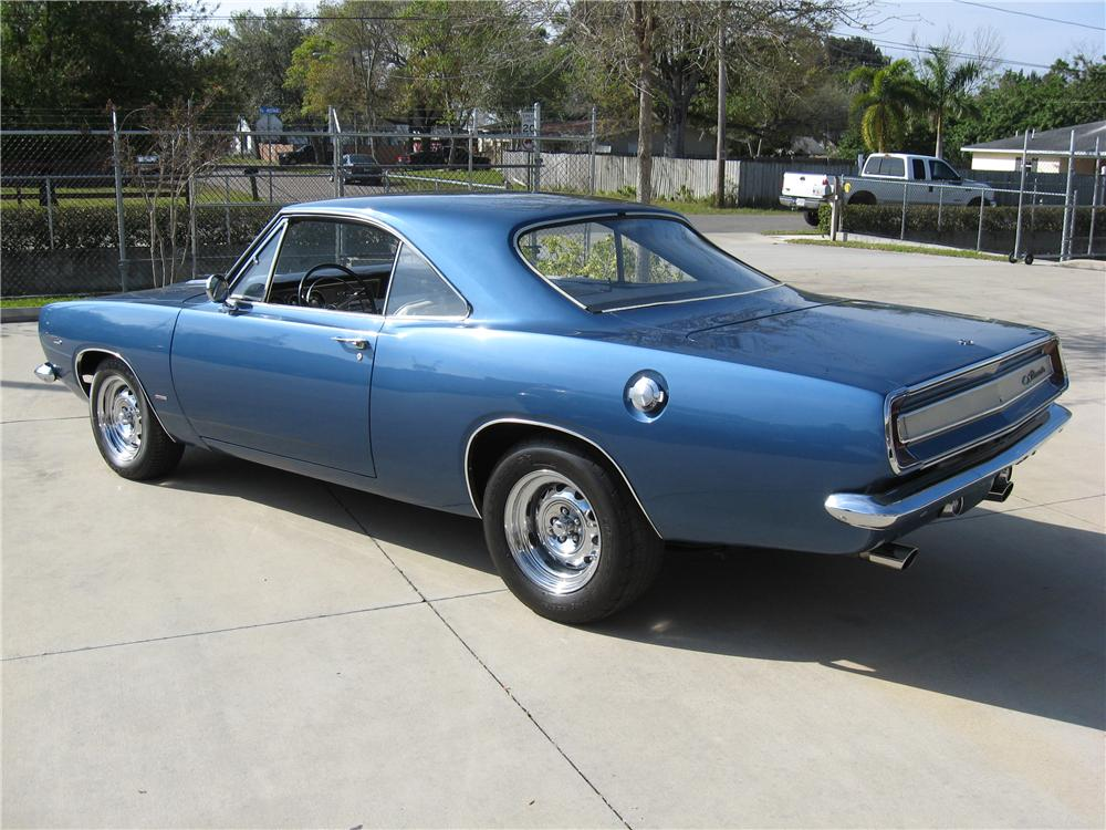 1967 PLYMOUTH BARRACUDA 2 DOOR HARDTOP - 151588