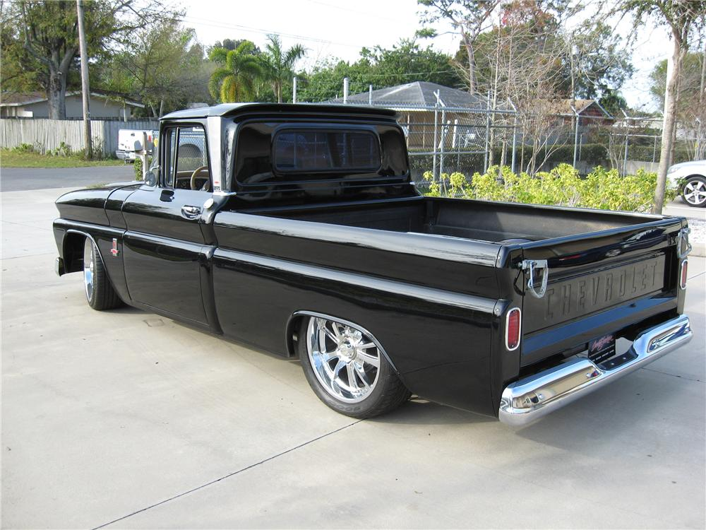1963 CHEVROLET C-10 CUSTOM PICKUP - Rear 3/4 - 151590