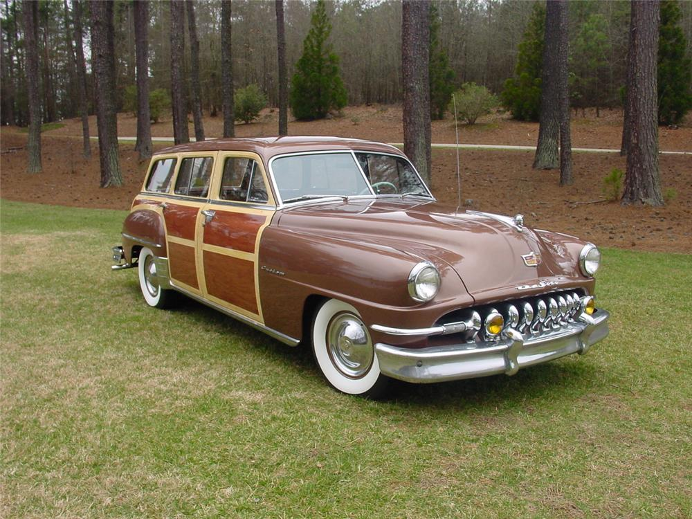 1951 DE SOTO CUSTOM STATION WAGON - Front 3/4 - 151620