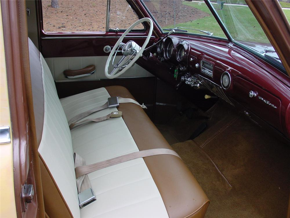 1951 DE SOTO CUSTOM STATION WAGON - Interior - 151620