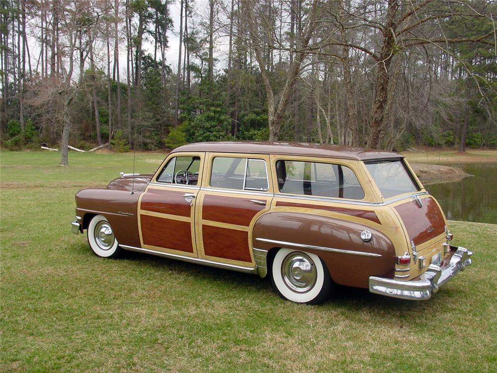 1951 DE SOTO CUSTOM STATION WAGON - Rear 3/4 - 151620