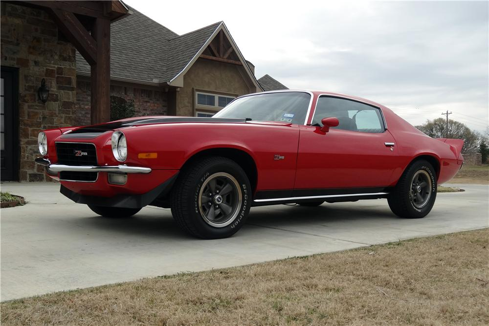 1973 CHEVROLET CAMARO Z/28 2 DOOR COUPE - Front 3/4 - 151626