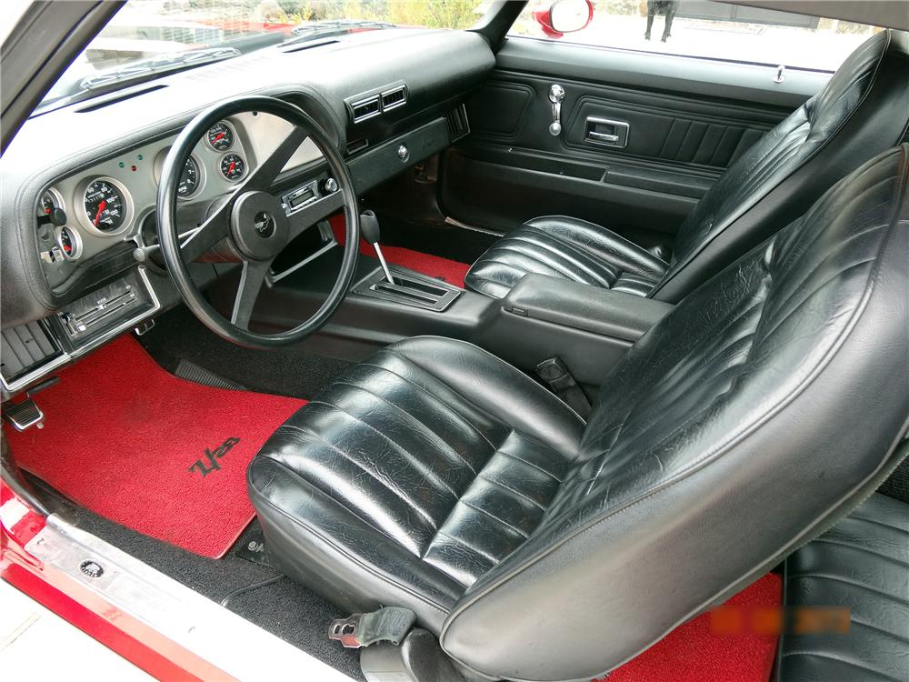 1973 CHEVROLET CAMARO Z/28 2 DOOR COUPE - Interior - 151626
