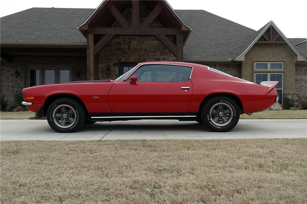1973 CHEVROLET CAMARO Z/28 2 DOOR COUPE - Side Profile - 151626