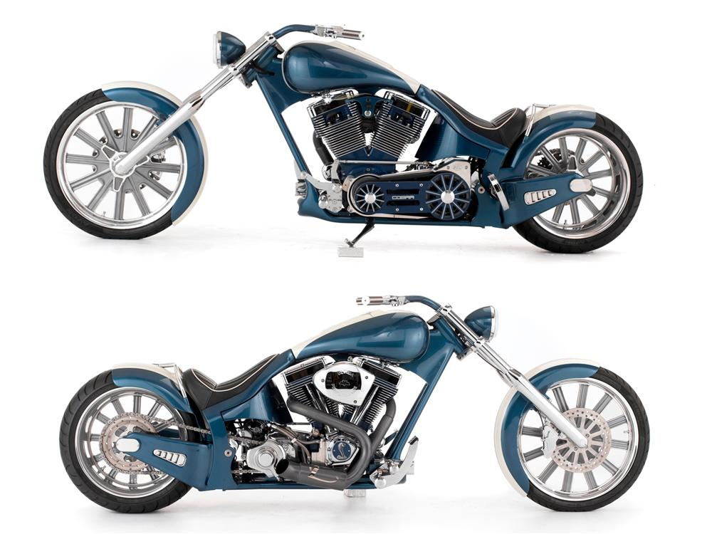 2007 ZACKYS CUSTOM SHELBY COBRA TRIBUTE CHOPPER - Side Profile - 151632