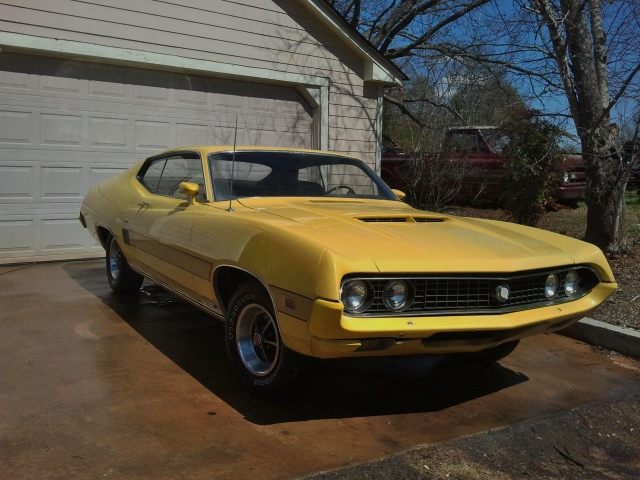 1970 FORD TORINO GT 2 DOOR COUPE - Front 3/4 - 151666