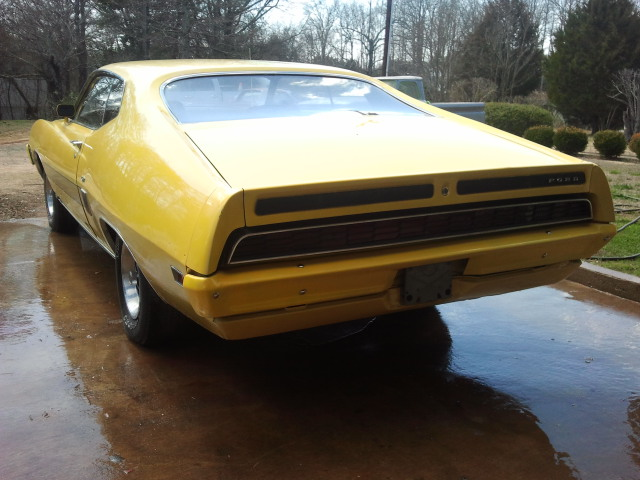 1970 FORD TORINO GT 2 DOOR COUPE - Rear 3/4 - 151666