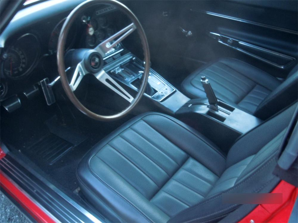 1968 CHEVROLET CORVETTE 2 DOOR COUPE - Interior - 151671