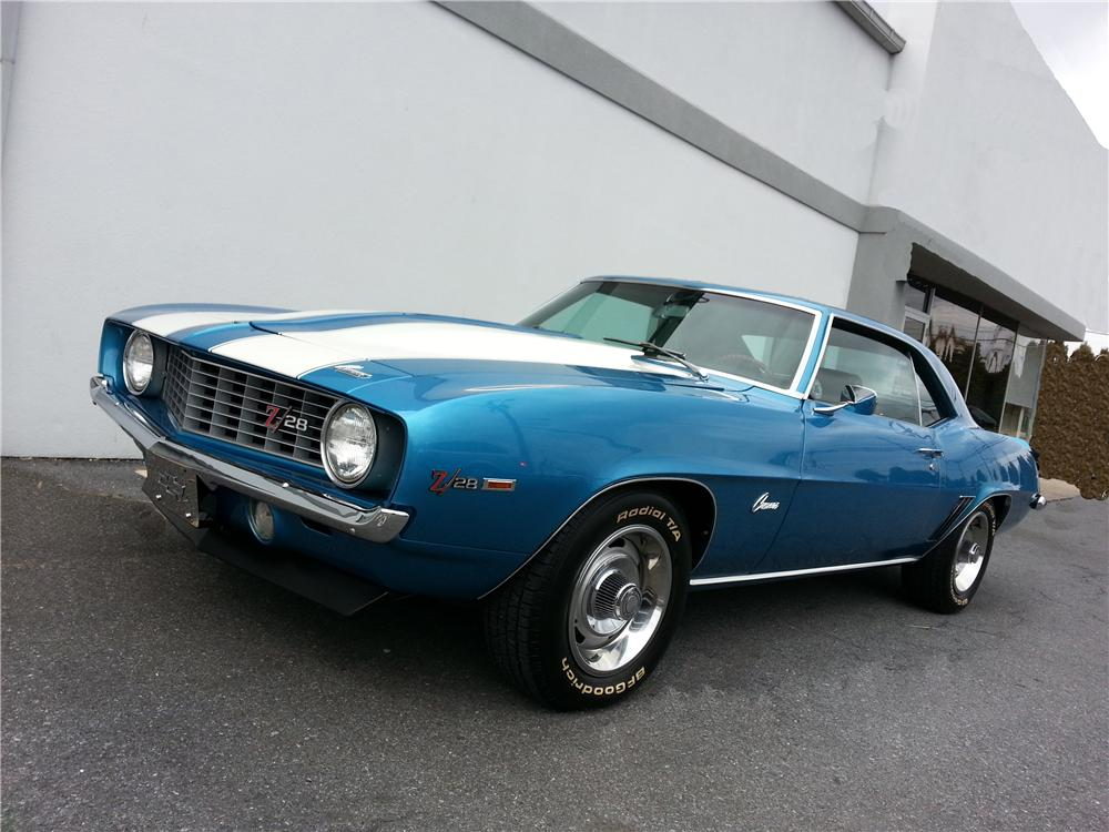 1969 CHEVROLET CAMARO Z/28 2 DOOR COUPE - Front 3/4 - 151673