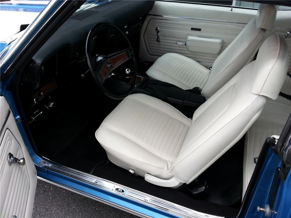 1969 CHEVROLET CAMARO Z/28 2 DOOR COUPE - Interior - 151673