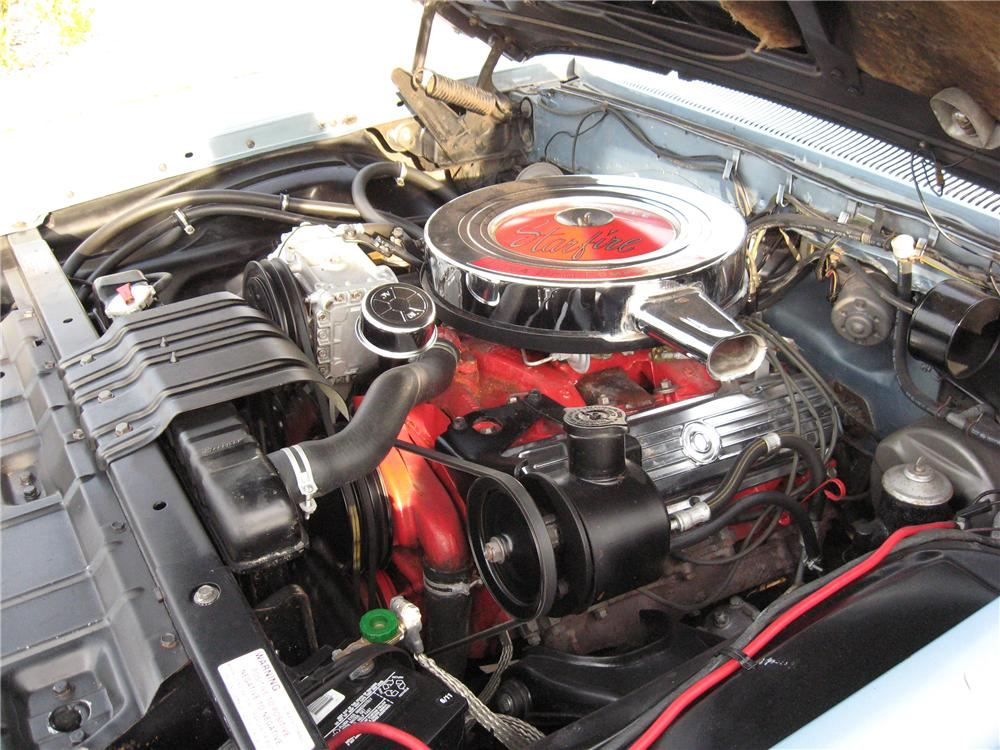 1962 OLDSMOBILE STARFIRE 2 DOOR HARDTOP - Engine - 151685