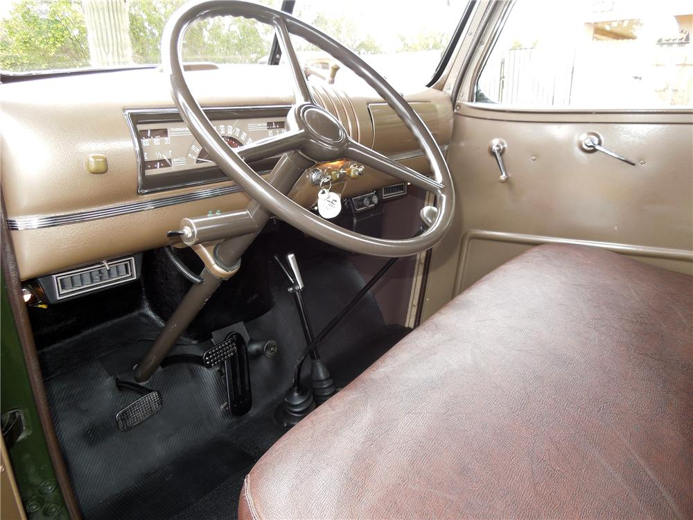 1946 CHEVROLET 3100 PICKUP - Interior - 151686