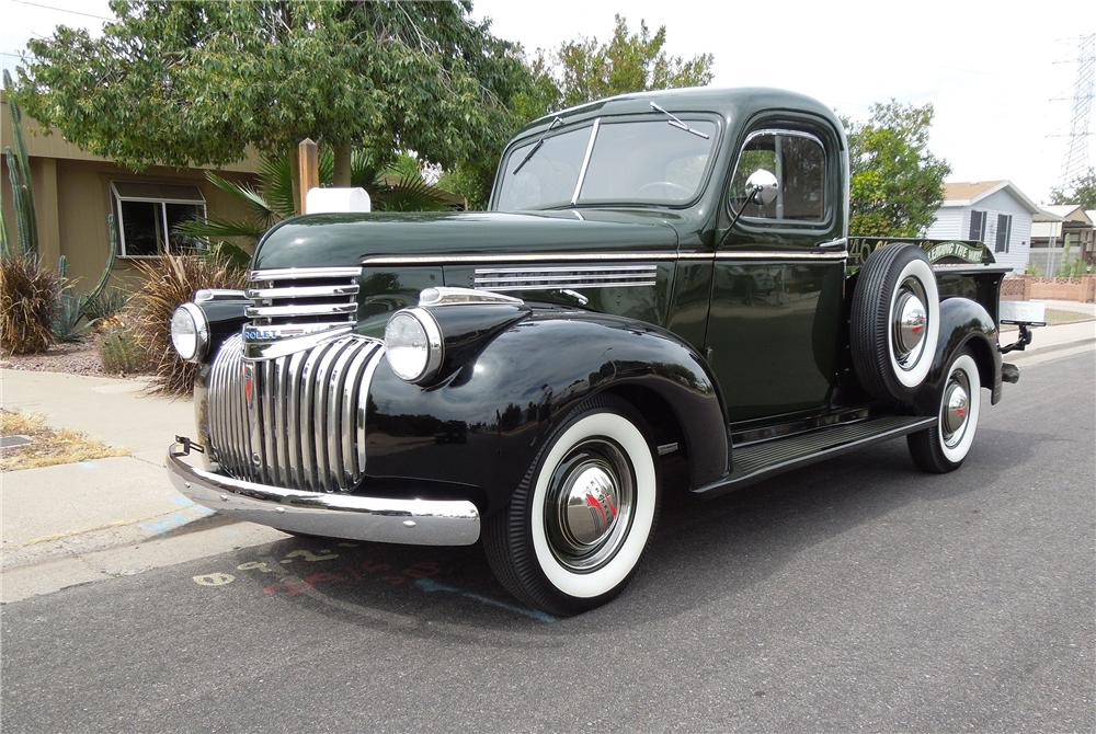 1946 CHEVROLET 3100 PICKUP - Side Profile - 151686