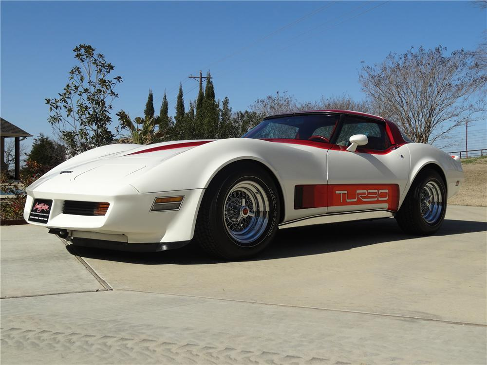 1980 CHEVROLET CORVETTE 2 DOOR COUPE - Front 3/4 - 151688